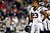 Arian Foster #23 of the Houston Texans looks on against the New England Patriots during the 2013 AFC Divisional Playoffs game at Gillette Stadium on January 13, 2013 in Foxboro, Massachusetts.  (Photo by Jared Wickerham/Getty Images)