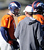 Denver Broncos quarterback Peyton Manning (18) talks with quarterbacks coach Adam Gase during practice Thursday, December 20, 2012 at Dove Valley.  John Leyba, The Denver Post