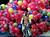 An Indian man carries plastic balls on his bicycle in the northern Indian city Lucknow February 16, 2006. REUTERS/Pawan Kumar