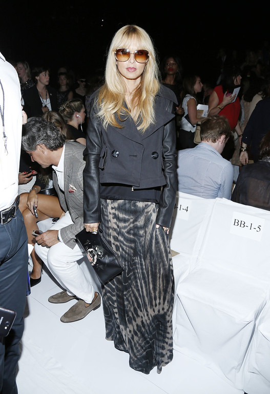 Description of . Rachel Zoe attends the Diane Von Furstenberg fashion show during Mercedes-Benz Fashion Week Spring 2014 at The Theatre at Lincoln Center on September 8, 2013 in New York City.  (Photo by Cindy Ord/Getty Images for Mercedes-Benz Fashion Week Spring 2014)