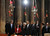 U.S. President Barack Obama (front) tours the Church of the Nativity in Bethlehem with Palestinian President Mahmoud Abbas (4th L), Secretary of State John Kerry (L) and Bethlehem Mayor Vera Baboun (2nd L), March 22, 2013.   REUTERS/Jason Reed