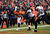 Denver Broncos running back Knowshon Moreno (27) catches a 14-yard pass for a touchdown in the second quarter. The Denver Broncos vs Baltimore Ravens AFC Divisional playoff game at Sports Authority Field Saturday January 12, 2013. (Photo by Joe Amon,/The Denver Post)