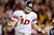 New York Giants quarterback Eli Manning reacts to a play during the second half of an NFL football game against the Washington Redskins in Landover, Md., Monday, Dec. 3, 2012. (AP Photo/Patrick Semansky)