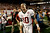 MIAMI GARDENS, FL - JANUARY 07:  AJ McCarron #10 of the Alabama Crimson Tide celebrates after defeating the Notre Dame Fighting Irish by a score of 42-14 to win the 2013 Discover BCS National Championship game at Sun Life Stadium on January 7, 2013 in Miami Gardens, Florida.  (Photo by Streeter Lecka/Getty Images)