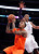 New York Knicks guard J.R. Smith (8) shoots as Los Angeles Lakers guard Kobe Bryant (24) defends during the second half of their NBA basketball game in Los Angeles, Tuesday, Dec. 25, 2012. The Lakers won 100-94. (AP Photo/Alex Gallardo)