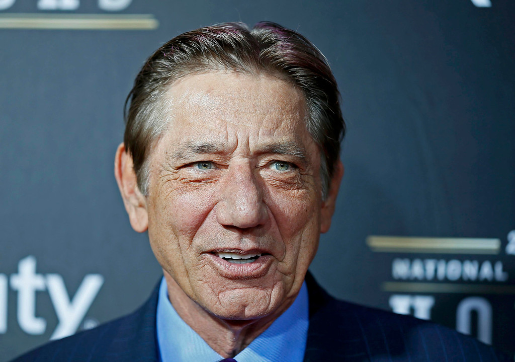 Description of . Hall of famer Joe Namath arrives at the 2nd Annual NFL Honors in New Orleans, Louisiana, February 2, 2013. The San Francisco 49ers will meet the Baltimore Ravens in the NFL Super Bowl XLVII football game February 3.   REUTERS/Lucy Nicholson