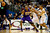 Los Angeles Lakers shooting guard Kobe Bryant (24) loses the ball after Denver Nuggets small forward Corey Brewer (13) poked it away during the first half at the Pepsi Center on Wednesday, December 26, 2012. AAron Ontiveroz, The Denver Post