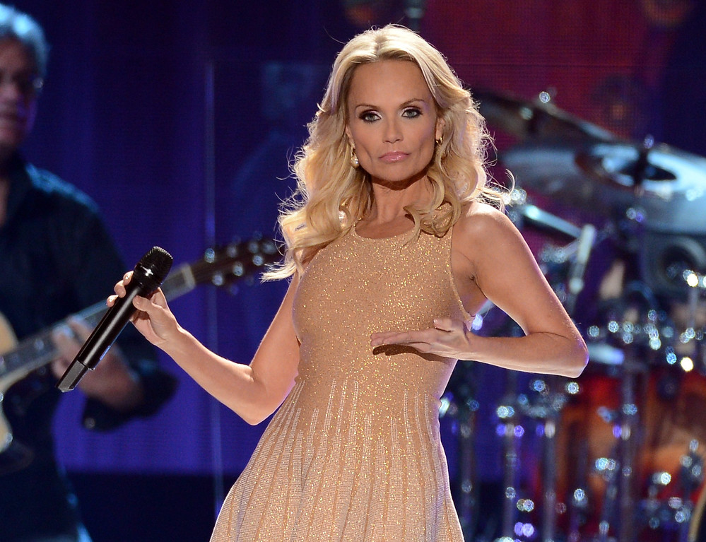 Description of . LAS VEGAS, NV - DECEMBER 10:  Singer Kristin Chenoweth performs onstage during the 2012 American Country Awards at the Mandalay Bay Events Center on December 10, 2012 in Las Vegas, Nevada.  (Photo by Mark Davis/Getty Images)
