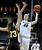 Colorado's Rachel Hargis (40) shoots over Wyoming's Ashley Sickles during their NCAA college basketball game, Wednesday, Nov. 28, 2012, in Boulder, Colo. (AP Photo/The Daily Camera, Jeremy Papasso)
