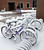 Bicycles are parked outside Hamilton Hall dorms are covered in snow after a storm passed the area, Wednesday, March 6, 2013 at Wright State University in Dayton, Ohio.   The National Weather Service has lifted winter storm warnings across Ohio, after a late-season storm dumped a half foot of snow or more on much of the state. (AP Photo/The Dayton Daily News, Ty Greenlees)