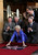 Helen Mirren (ground C) reacts as her star, the 2,488th star on the Hollywood Walk of Fame, is unveiled in Hollywood, California, January 3, 2013. The multi major award-winning actress was recently nominated for a Golden Globe Award by the Hollywood Foreign Press Association for Best Actress in a Motion Picture: Drama and for a Screen Actors Guild Award for Best Actress in a Motion Picture Drama. Mirren will appear in the HBO biopic 