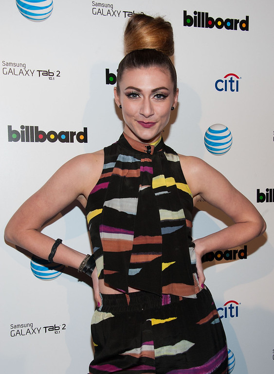 Description of . Amy Heidemann attends The Billboard GRAMMY After Party at The London Hotel on February 10, 2013 in West Hollywood, California. (Photo by Valerie Macon/Getty Images)