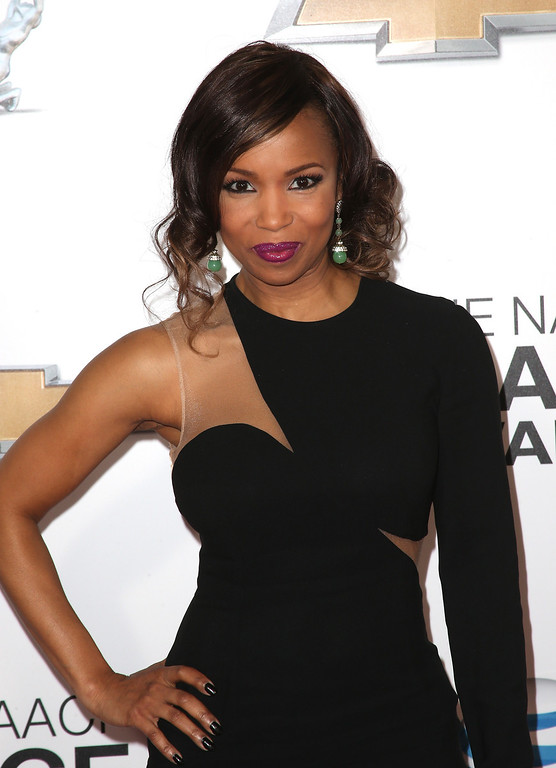 Description of . LOS ANGELES, CA - FEBRUARY 01:  Actress Elise Neal attends the 44th NAACP Image Awards at The Shrine Auditorium on February 1, 2013 in Los Angeles, California.  (Photo by Frederick M. Brown/Getty Images for NAACP Image Awards)