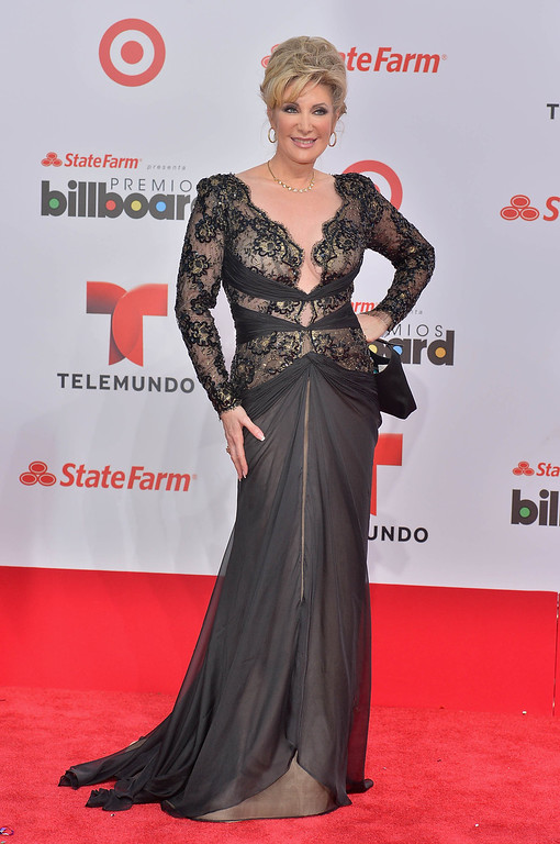 Description of . MIAMI, FL - APRIL 25:  Felicia Mercado arrives at Billboard Latin Music Awards 2013 at Bank United Center on April 25, 2013 in Miami, Florida.  (Photo by Gustavo Caballero/Getty Images)