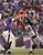 Baltimore Ravens quarterback Joe Flacco (5) just gets the ball away over the rush by Denver Broncos outside linebacker Von Miller (58) during the third quarter Sunday, December 16, 2012 at M&T Bank Stadium. John Leyba, The Denver Post