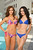 Miss Universe 2012 contestants Miss Malaysia Kimberley Leggett (L) and Miss Thailand Nutpimon Farida Waller pose for photos in their swimwear at Planet Hollywood Resort and Casino, in Las Vegas, Nevada December 3, 2012. The Miss Universe 2012 competition will be held on December 19. REUTERS/Darren Decker/Miss Universe Organization L.P/Handout