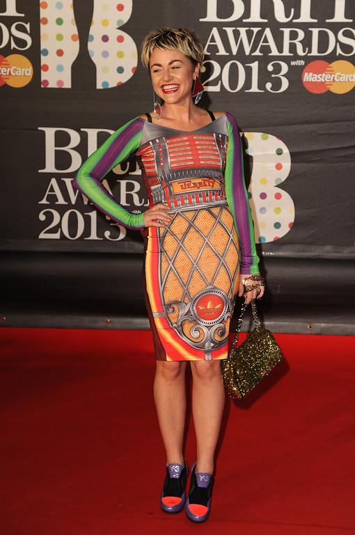 Description of . Jaime Winstone attends the Brit Awards 2013 at the 02 Arena on February 20, 2013 in London, England.  (Photo by Eamonn McCormack/Getty Images)