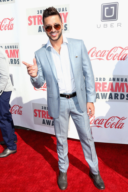 Description of . Actor Jai Rodriguez attends the 3rd Annual Streamy Awards at Hollywood Palladium on February 17, 2013 in Hollywood, California.  (Photo by Frederick M. Brown/Getty Images)