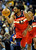 DENVER, CO - JANUARY 18: Washington forward Nene pushed the ball up the court in the second half. The Washington Wizards defeated the Denver Nuggets 112-108 at the Pepsi Center Friday night, January 18, 2013. Karl Gehring/The Denver Post