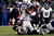Stevan Ridley #22 of the New England Patriots runs the ball against the Baltimore Ravens during the 2013 AFC Championship game at Gillette Stadium on January 20, 2013 in Foxboro, Massachusetts.  (Photo by Jim Rogash/Getty Images)