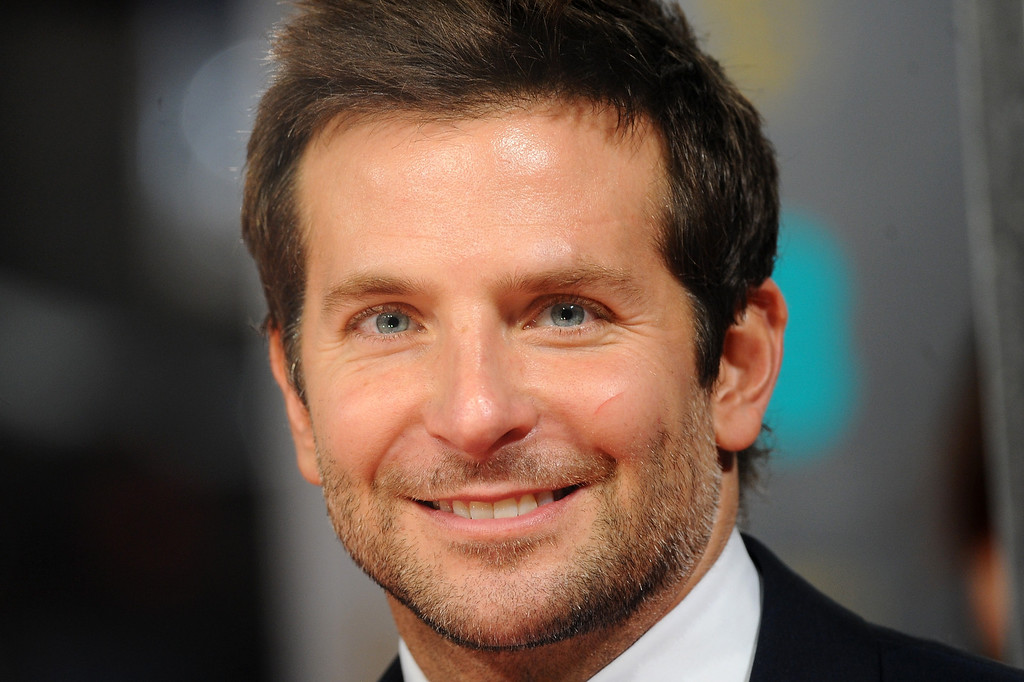 ". 2014 Academy Award Nominee for Best Actor in a Supporting Role: Bradley Cooper in ""American Hustle.\""  (Photo by Anthony Harvey/Getty Images)"