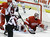 Colorado Avalanche center Paul Stastny (26) scores on Detroit Red Wings goalie Jimmy Howard (35) during the third period of an NHL hockey game in Detroit, Tuesday, March 5, 2013. Detroit won 2-1. (AP Photo/Carlos Osorio)