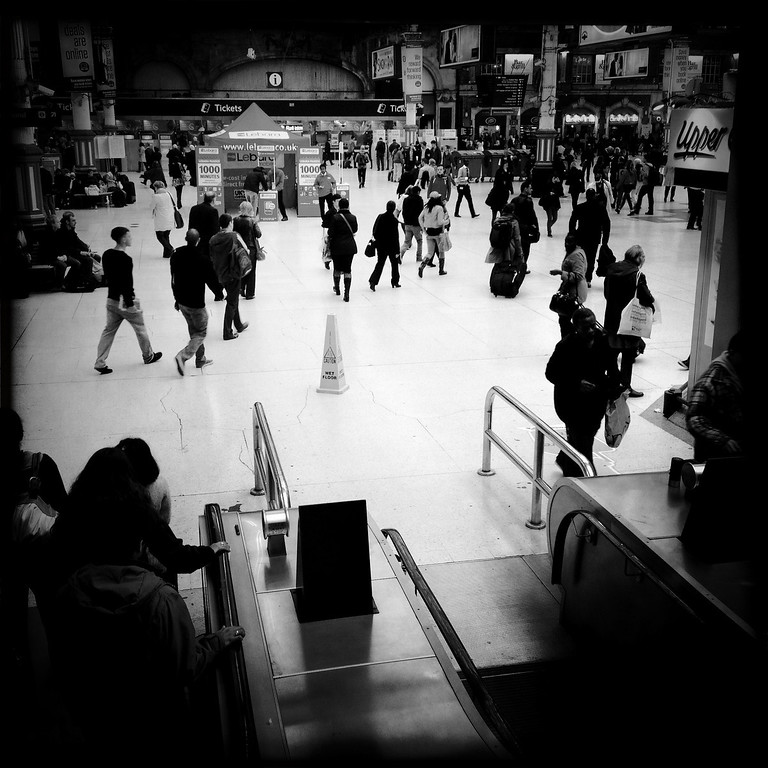 Description of . A general view of Victoria station on May 2, 2012 in London, England.  (Photo by Vittorio Zunino Celotto/Getty Images)