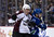 VANCOUVER, CANADA - JANUARY 30: Tyson Barrie #41 of the Colorado Avalanche and Chris Higgins #20 of the Vancouver Canucks battle behind the net during the second period in NHL action on January 30, 2013 at Rogers Arena in Vancouver, British Columbia, Canada.  (Photo by Rich Lam/Getty Images)