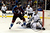 DENVER, CO. - JANUARY 22: Los Angeles Kings goalie Jonathan Quick (32) and defenseman Drew Doughty (8) react to a goal by Colorado Avalanche right wing P.A. Parenteau (15) during the third period. The Colorado Avalanche Los Angeles Kings at Pepsi Center January 22, 2013. 