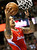 Los Angeles Clippers' Matt Barnes goes to the hoop past the Denver Nuggets in their NBA basketball game in Denver March 7, 2013. REUTERS/Rick Wilking