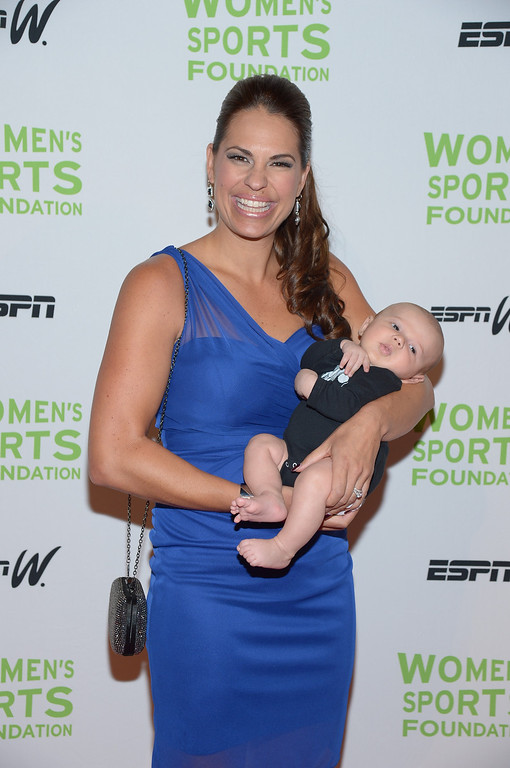 Description of . NEW YORK, NY - OCTOBER 16:  Olympic softball player Jessica Mendoza attends the 34th annual Salute to Women In Sports Awards at Cipriani, Wall Street on October 16, 2013 in New York City.  (Photo by Michael Loccisano/Getty Images for the Women's Sports Foundation)