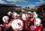 Members of the Nebraska Cornhuskers huddle before the Capital One Bowl against the Georgia Bulldogs at the Citrus Bowl on January 1, 2013 in Orlando, Florida. (Photo by Scott Cunningham/Getty Images)