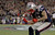 New England Patriots tight end Aaron Hernandez celebrates after scoring a touchdown against the Houston Texans during the first half of their NFL football game in Foxborough, Massachusetts December 10, 2012. REUTERS/Jessica Rinaldi