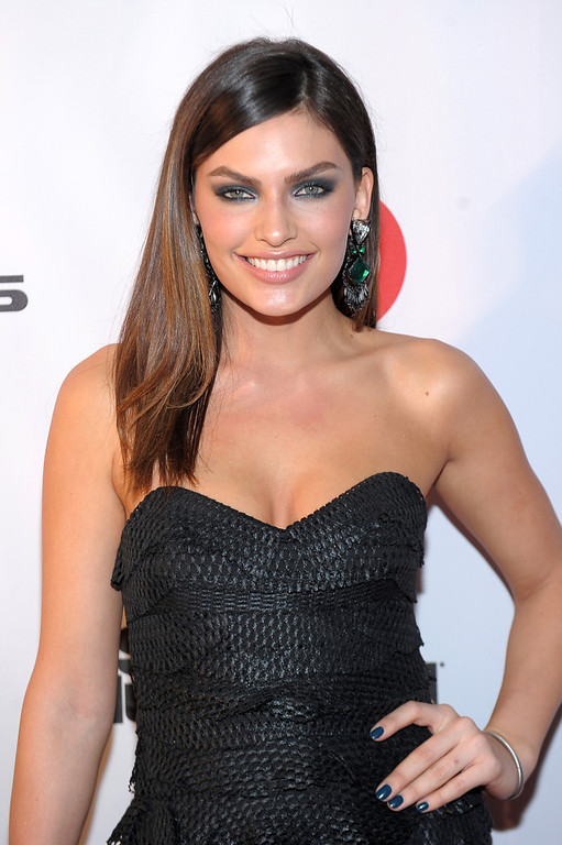 Description of . Sports Illustrated swimsuit model Alyssa Miller attends Club SI Swimsuit at 1 OAK Nightclub at The Mirage Hotel & Casino on February 14, 2013 in Las Vegas, Nevada.  (Photo by Michael Loccisano/Getty Images for Sports Illustrated)