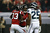 Roddy White #84 and  Harry Douglas #83 of the Atlanta Falcons celebrate White's second quarter touchdown against the Seattle Seahawks during the NFC Divisional Playoff Game at Georgia Dome on January 13, 2013 in Atlanta, Georgia.  (Photo by Streeter Lecka/Getty Images)