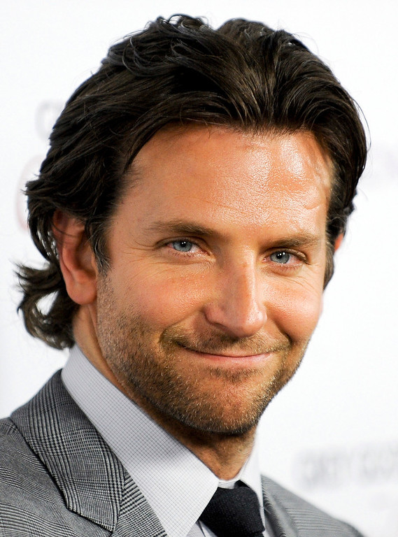 Description of . Actor Bradley Cooper arrives at a special screening of his new movie