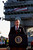 President Bush declares the end of major combat in Iraq on May 1, 2003 as he spoke aboard the aircraft carrier USS Abraham Lincoln off the California coast. (AP Photo/J. Scott Applewhite)