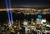 The 'Tribute in Light' shines as One World Trade Center (R) rises under construction on the eleventh anniversary of the terrorist attacks on lower Manhattan at the World Trade Center on September 11, 2012 in New York City. New York City and the nation are commemorating the eleventh anniversary of the September 11, 2001 attacks which resulted in the deaths of nearly 3,000 people after two hijacked planes crashed into the World Trade Center, one into the Pentagon in Arlington, Virginia and one crash landed in Shanksville, Pennsylvania.  (Photo by Mario Tama/Getty Images)