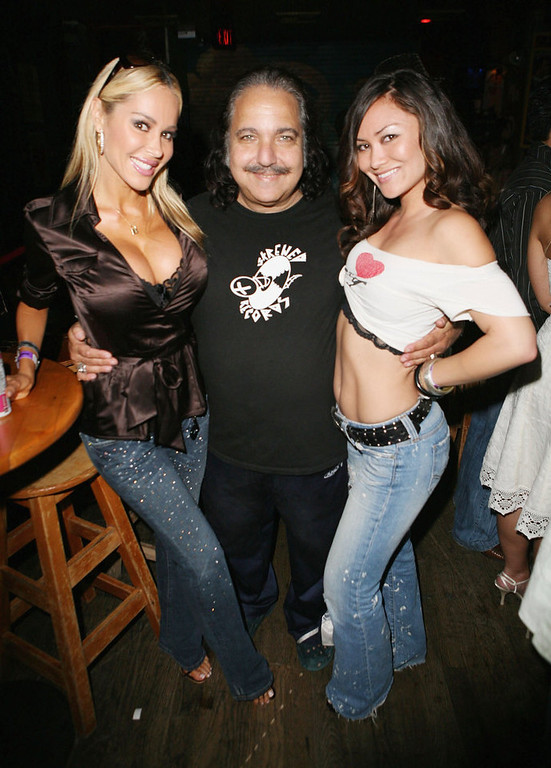 Description of . Tabitha Taylor, Ron Jeremy and Christina Brown attend Corey Feldman's 35th Birthday Bash at the House of Blues on July 30, 2006 in West Hollywood, California. (Photo by Chad Buchanan/Getty Images)