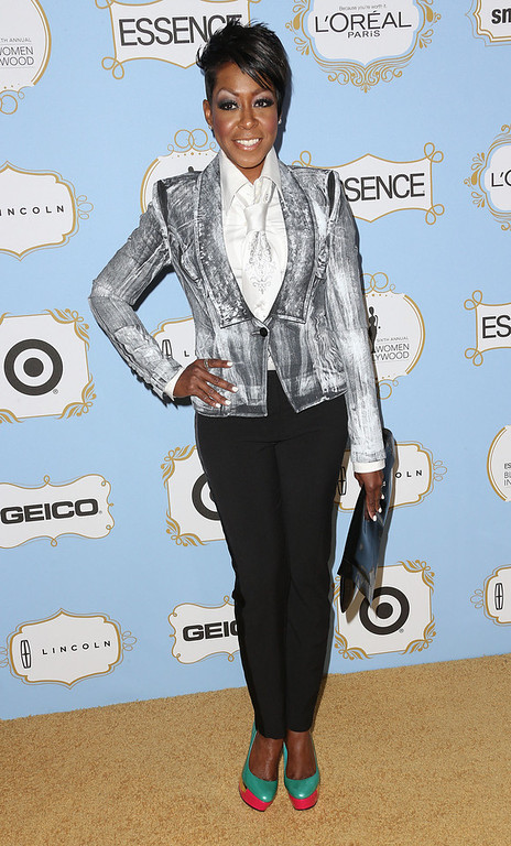 Description of . Actress Tichina Arnold attends the Sixth Annual ESSENCE Black Women In Hollywood Awards Luncheon at the Beverly Hills Hotel on February 21, 2013 in Beverly Hills, California.  (Photo by Frederick M. Brown/Getty Images)