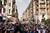 Demonstrators during protests in Cairo, Nov. 27, 2012. Demonstrators began flowing into the streets of Cairo Tuesday for a day of protest against President Mohammed Morsi's effort to assert broad new powers, dismissing his efforts only hours before to reaffirm his deference to Egyptian law and courts. (Ivor Prickett/The New York Times)