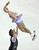 Stacey Kemp And David King of Great Britain skate their short program in the pairs competition at the 2013 World Figure Skating Championships in London, Ontario, March 13, 2013.  GEOFF ROBINS/AFP/Getty Images