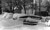 Cars sit buried along the street after the Blizzard of '82. Denver Post Library Archive