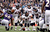 Denver Broncos quarterback Peyton Manning (18) changes up at the line of scrimmage against the Baltimore Ravens defense Sunday, December 16, 2012 at M&T Bank Stadium. John Leyba, The Denver Post