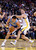 OAKLAND, CA - NOVEMBER 29: Danilo Gallinari #8 of the Denver Nuggets is fouled by David Lee #10 of the Golden State Warriors at Oracle Arena on November 29, 2012 in Oakland, California. (Photo by Ezra Shaw/Getty Images)