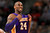 Kobe Bryant #24 of the Los Angeles Lakers reacts against the Denver Nuggets at the Pepsi Center on February 25, 2013 in Denver, Colorado. NOTE TO USER: User expressly acknowledges and agrees that, by downloading and or using this photograph, User is consenting to the terms and conditions of the Getty Images License Agreement.  (Photo by Doug Pensinger/Getty Images)