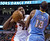 Toronto Raptors' Rudy Gay, left, fouls Denver Nuggets' Corey Brewer during the first half of an NBA basketball game in Toronto on Tuesday, Feb. 12, 2013. (AP Photo/The Canadian Press, Chris Young)