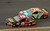 Clint Bowyer, driver of the #15 5-hour ENERGY Toyota, and Kyle Busch, driver of the #18 M&M's Toyota, race during the NASCAR Sprint Cup Series Budweiser Duel 2 at Daytona International Speedway on February 21, 2013 in Daytona Beach, Florida.  (Photo by Mike Ehrmann/Getty Images)