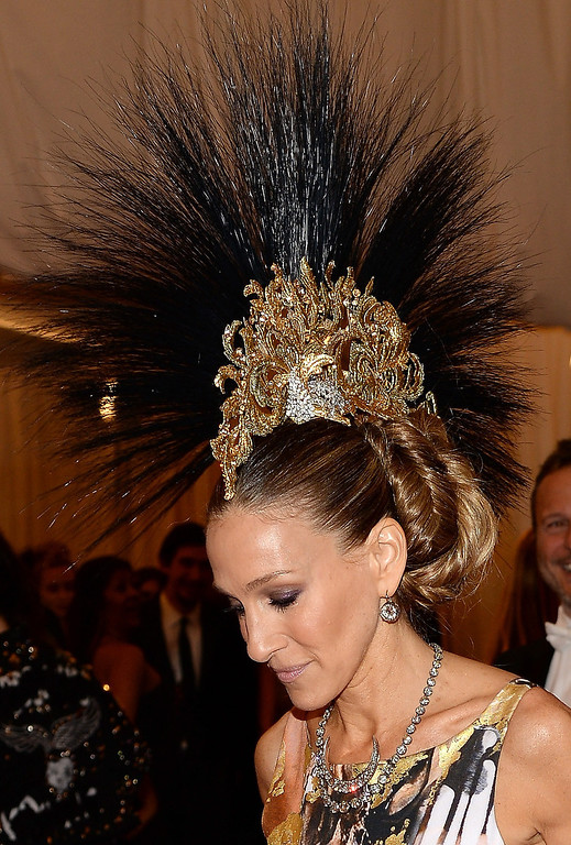 Description of . Sarah Jessica Parker attends the Costume Institute Gala for the