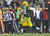 Green Bay Packers quarterback Aaron Rodgers breaks away for a 27-yard touchdown run during the second half of an NFL football game against the Detroit Lions Sunday, Dec. 9, 2012, in Green Bay, Wis. (AP Photo/Jeffrey Phelps)